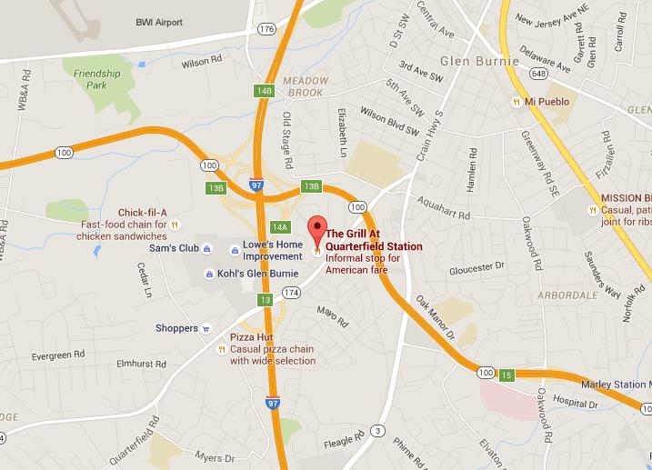Restaurant Conveniently Located Near Glen Burnie, Pasadena and BWI on